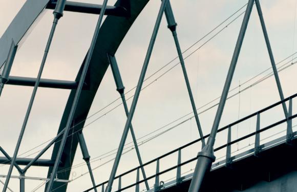 12. Arch bridge over the Twente channel, Eefde (The Netherlands)