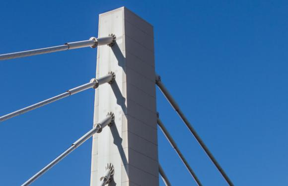 13. Cable Stayed bridge over the Bacchiglione river, Montegalda (Italy)