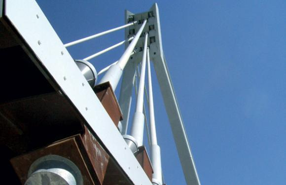 04. Cable Stayed bridge in Alves, Bressanone (Italy)